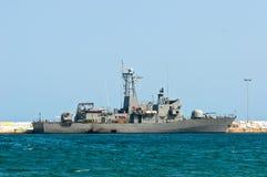 Big battle ship Stock Images