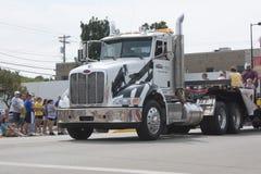 Big Bayland Semi Truck Close Up Stock Image