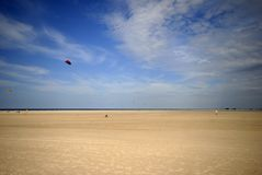 Big beach and buggy royalty free stock photography