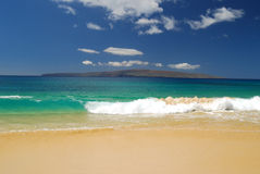 Big Beach in Maui. Royalty Free Stock Photography