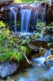 Big Bear Creek Little Waterfall Stock Image