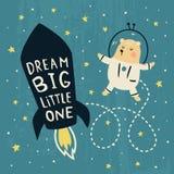 Big Bear di sogno Immagini Stock