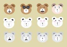 Big Bear enfrenta o grupo Imagem de Stock Royalty Free