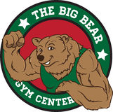 Big Bear Gym Center Stock Photo