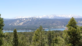 Big Bear Lake California mountains Royalty Free Stock Photography