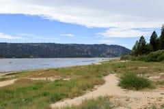 Big Bear lake. Early morning at Big Bear Lake, Big bear California Royalty Free Stock Photography