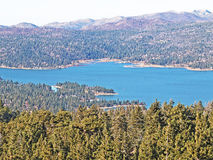 Big Bear Lake In Fall Royalty Free Stock Photos