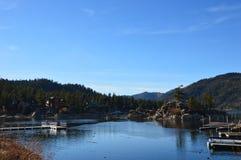 Big Bear Lake. The famous Big Bear Lake in Big Bear, CA Royalty Free Stock Photography
