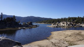 Big Bear Lake. S, California mountains stock image