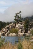 Big Bear Lake. In San Bernardino County, California stock photo