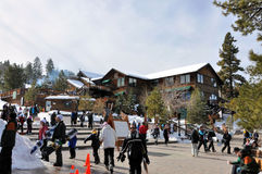 Big Bear Mountain Resort Royalty Free Stock Images