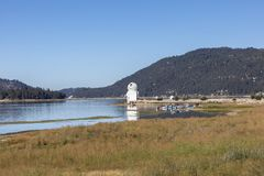 Big Bear Observatorium Kalifornien Stockbild