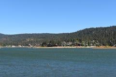 Big Bear sjö Kalifornien Fotografering för Bildbyråer