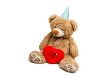 Big Bear soft toy isolated Royalty Free Stock Image
