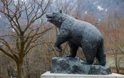 Big bear statue at korea Royalty Free Stock Photo