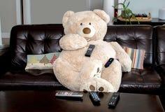 Big Bear tem telecontroles para muitos dispositivos diferentes foto de stock