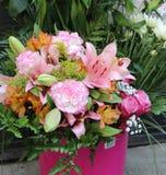 Big beautiful bouquet of flowers Stock Photos