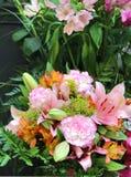 Big beautiful bouquet of flowers Stock Image