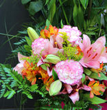 Big beautiful bouquet of flowers Stock Photography