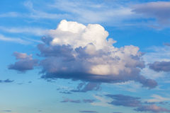Big beautiful cloud Royalty Free Stock Image