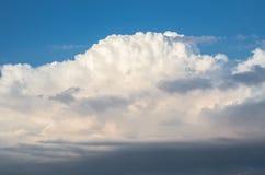 Big beautiful clouds. Autumn sky, beautiful nature stock image