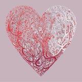 Big Beautiful heart Stock Photos