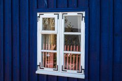 Big, beautiful old-fashioned windows. Big, beautiful old-fashioned home windows royalty free stock photography
