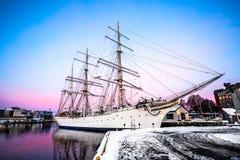 Big beautiful ship Stock Photos