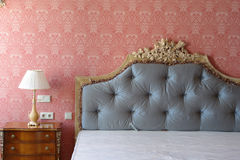 Big Bed Royalty Free Stock Photo