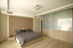 Big bedroom Stock Images