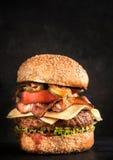 Big beef burger Royalty Free Stock Photo