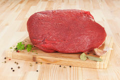 Big beef piece. Royalty Free Stock Image