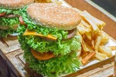 Big beefburger Stock Image