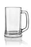 Big beer glass stock photography