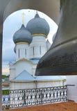 Big bell in belfry of Rostov Kremlin Royalty Free Stock Photo