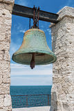 Big bell in the Chersonesus in Crimea, near Sevastopol Royalty Free Stock Photo