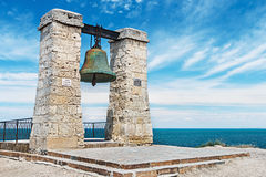Big bell in the Chersonesus in Crimea, near Sevastopol Royalty Free Stock Photos