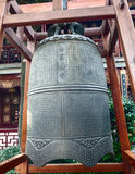 Big bell in Hanshan temple, Suzhou, China Royalty Free Stock Images