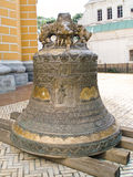 The Big Bell of The Laura. The Big Bell of belfry of the Kiev-Pecherskaya Laura Stock Photography