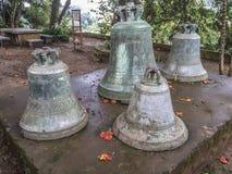 The Big Bell of Virgin of Tepeyac Church, San Rafael del Norte, Royalty Free Stock Image
