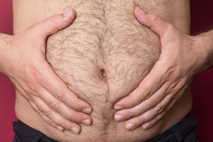 Big Belly Stock Photo