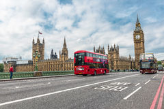 Big Ben και σπίτια του Κοινοβουλίου, Λονδίνο, UK Στοκ φωτογραφία με δικαίωμα ελεύθερης χρήσης