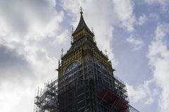 Big Ben, Λονδίνο Μεγάλη Βρετανία Στοκ εικόνα με δικαίωμα ελεύθερης χρήσης