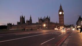 Big Ben Λονδίνο απόθεμα βίντεο
