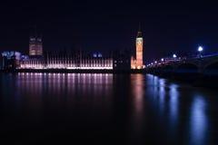 Big Ben στο Γουέστμινστερ στο Λονδίνο Στοκ Εικόνες