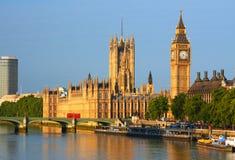 Big Ben στο Λονδίνο Στοκ Εικόνες