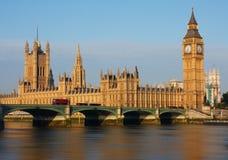 Big Ben στο Λονδίνο Στοκ φωτογραφία με δικαίωμα ελεύθερης χρήσης