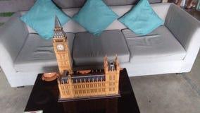 Big Ben του τρισδιάστατου γρίφου του Λονδίνου Στοκ φωτογραφίες με δικαίωμα ελεύθερης χρήσης