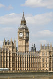 Big Ben. And the Houses of Parliament, London, England Royalty Free Stock Photo