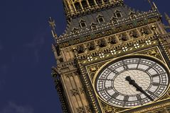 Big Ben. Clock Tower, London, England Royalty Free Stock Photography